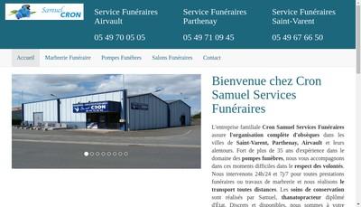 Site internet de Holding Samuel Cron