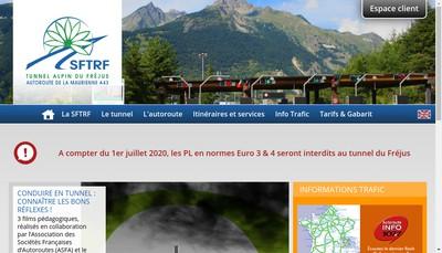 Site internet de SFTRF