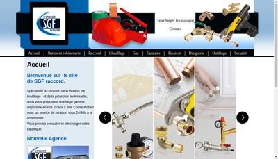 Site internet de Sgf Raccord