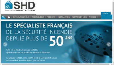 Site internet de Safe Home Detector