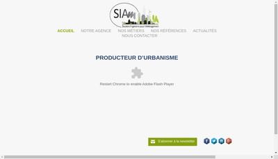 Site internet de Siam Urba