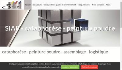 Site internet de SIAP