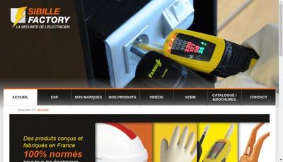 Site internet de Sibille Factory