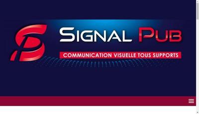 Site internet de Signal Pub