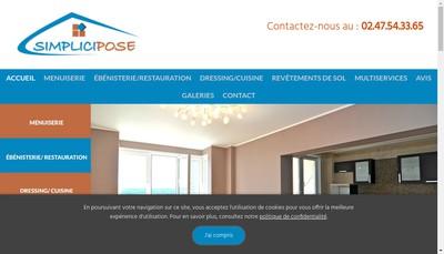 Site internet de Simplicipose