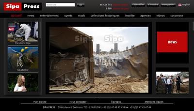 Site internet de Sipa Press