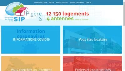Site internet de Societe Immobiliere Picarde d'Hlm