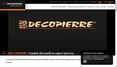 Site internet de Sitzia Decoration