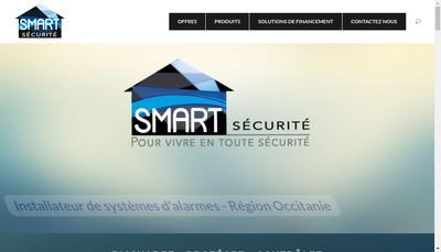 Site internet de Smart Securite