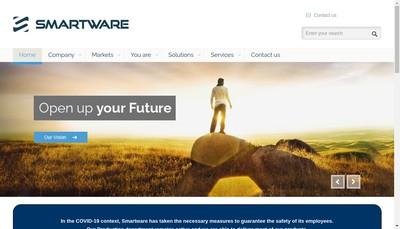 Site internet de Smartware