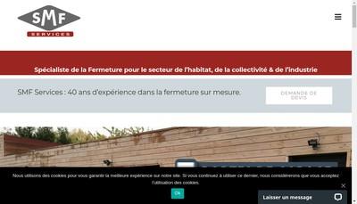 Site internet de Smf Services