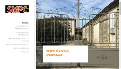 Site internet de Sablage Metallisation Peintures Charentaise