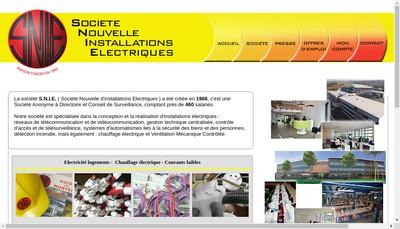 Site internet de Nouvelle Installation Electriques