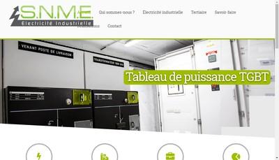Site internet de Societe Normande de Montage Electrique