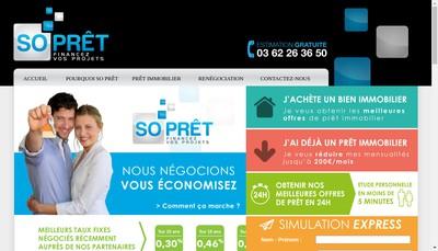 Site internet de So Conseil Parteos Premium Finance