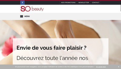 Site internet de Beauty Invest
