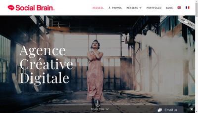 Site internet de Social Brain