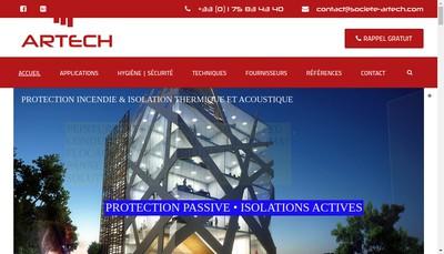 Site internet de Artech