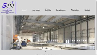 Site internet de SETE