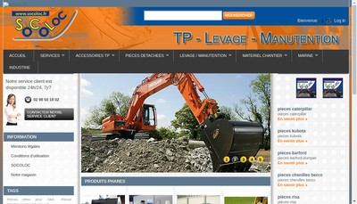 Site internet de Socoloc