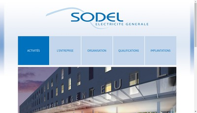 Site internet de Sodel