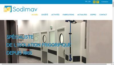 Site internet de Sodimav SA