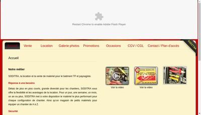 Site internet de Soditra