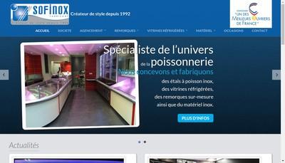 Site internet de Sofinox SARL