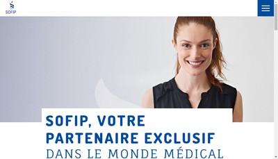 Site internet de Societe de Franchise pour l'Information Pharmaceutique