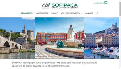 Site internet de Sofipaca