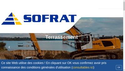 Site internet de Societe Francilienne de Transports Sofrat