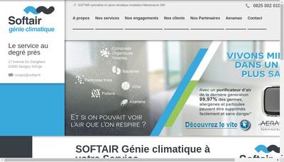 Site internet de Softair