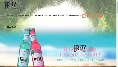 Site internet de Softdrink'S