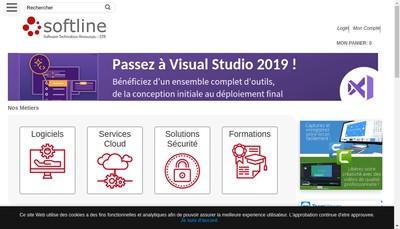 Site internet de Softline Solutions France