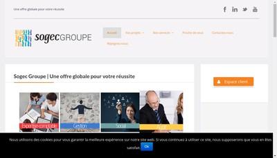 Site internet de Sopafi Conseil