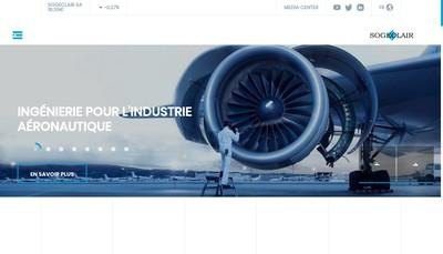 Site internet de Sogeclair Aerospace SAS