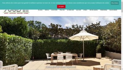Site internet de Agence Sogesim