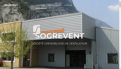 Site internet de Sogrevent Invest