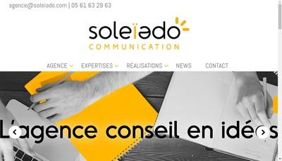 Site internet de Soleiado Communication