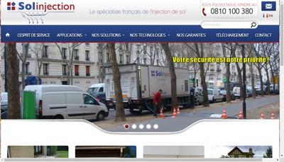 Site internet de Solinjection