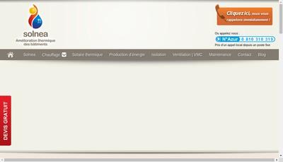 Site internet de Solnea