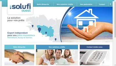Site internet de Solufi Ouest