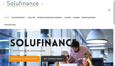 Site internet de Solufinance
