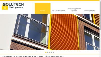 Site internet de Solutech