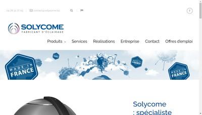 Site internet de Solycome
