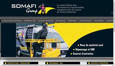 Site internet de Somafi Paris Nord