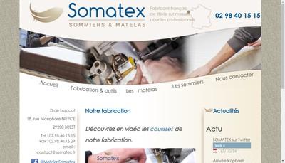 Site internet de Somatex