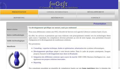 Site internet de Soogest