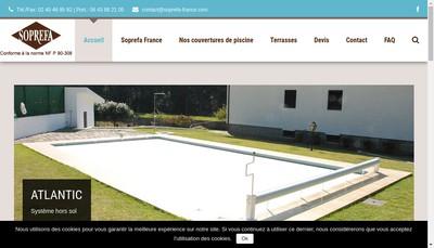 Site internet de Soprefa France