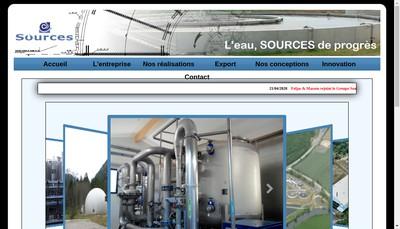 Site internet de Sources